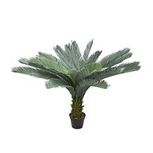 artificial cycad palm