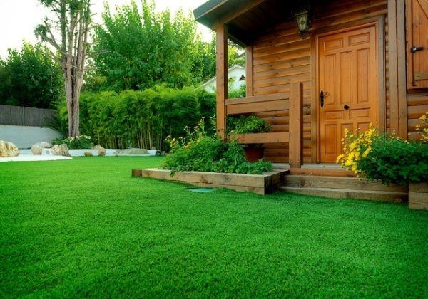 artificial grass for garden landscape