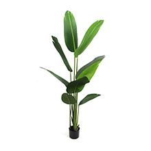 faux banana leaf tree