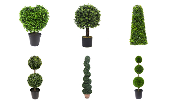 Artificial Topiary Trees Export Capacity