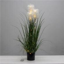 Artificial Pampas Grass With Lights