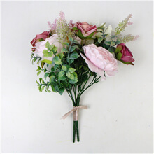 Bridal Silk Bouquet Flowers FS-09