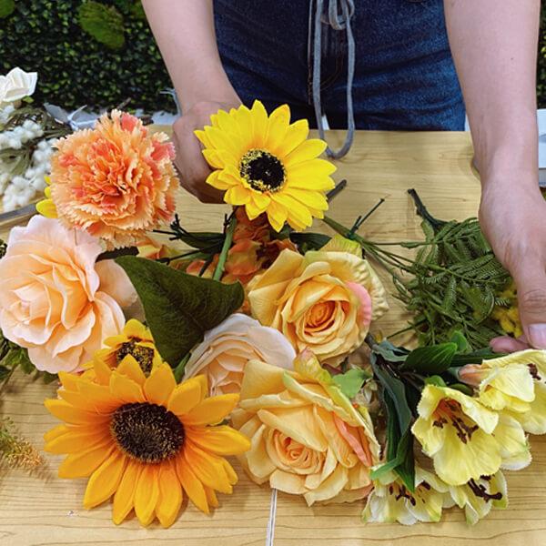 Silk Bouquet Design and Market