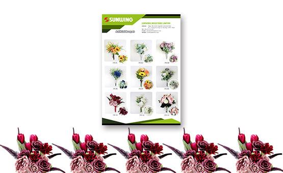 artificial flower bouquet Catalog