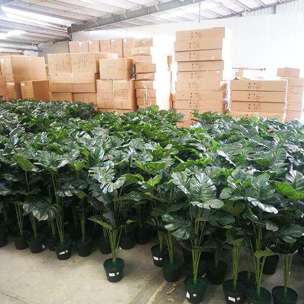artificial potted plants manufacturer