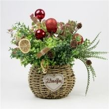 Christmas Flower Baskets