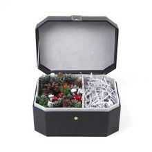 Christmas flower bouquet boxes