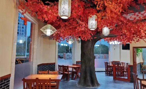 decorative artificial trees