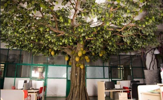 faux trees indoor
