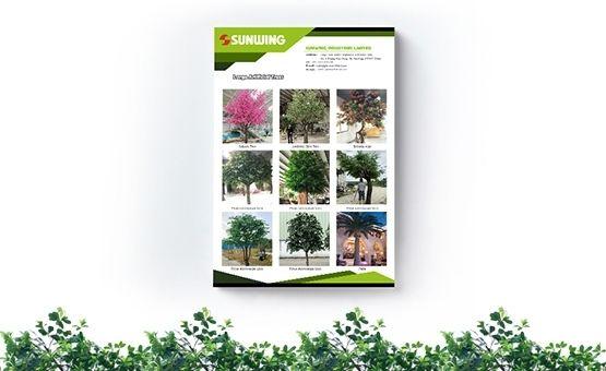 large artificial trees range