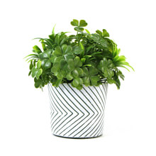 small fake potted plants PZ064