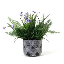 small faux plants in pots PZ067
