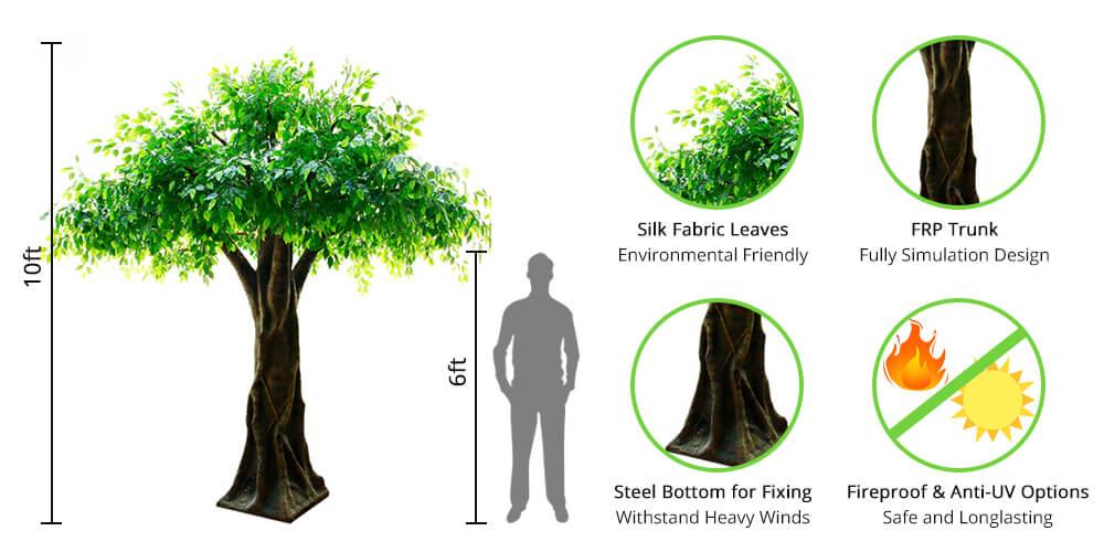 Sunwing Quality Artificial Trees
