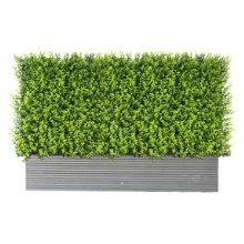 Artificial Box Hedge in trough A006