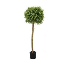 lifelike Faux Boxwood Topiary Outdoor