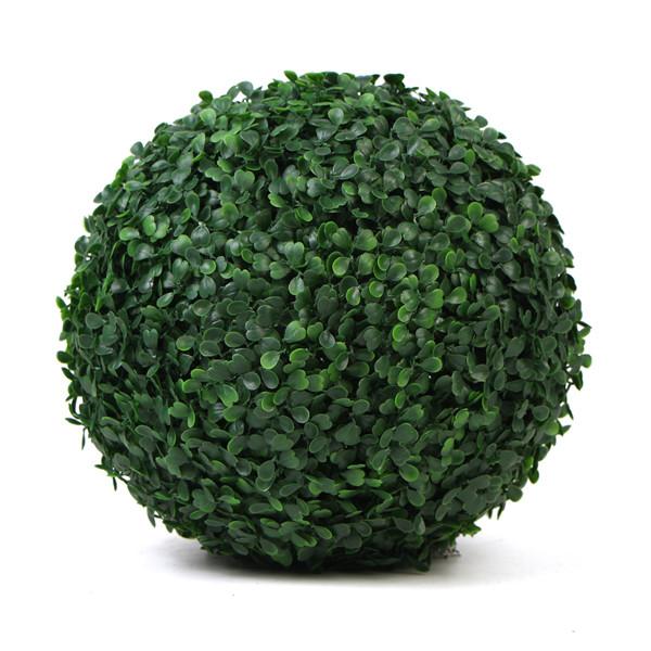 lifelike outdoor artificial boxowood balls