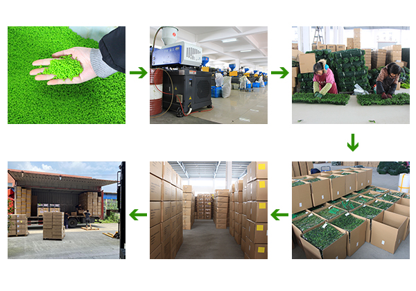 artificial hedges package and delivery