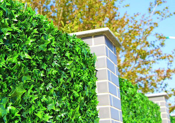 faux hedges for outdoor