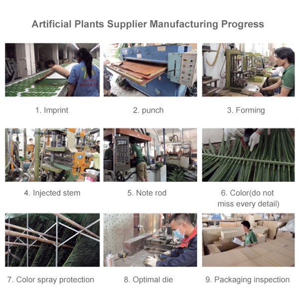 Artificial Plants Supplier Manufacturing Progress